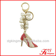 Funny Crystal Keychain Vners With Pearl