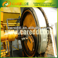 20 tons waste plastic and tires recycling plant for crude oil
