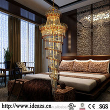 C9158 chandelier crystal gold color ,crystal light components, wall mounted chandelier