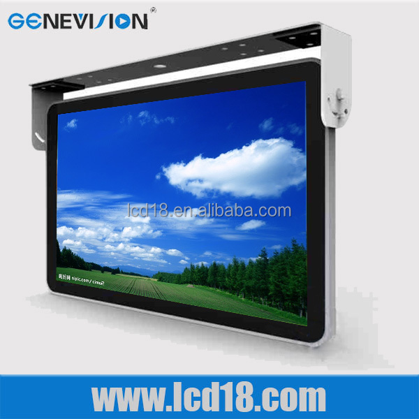18.5 inch large screen Manufacture price lcd Powerful usb port flat screen bus tv monitor