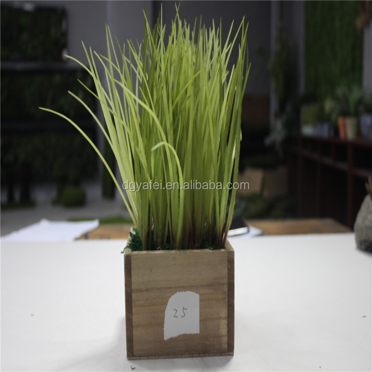 artificiail green plastic decoration succulent for table/window decor