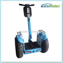 EcoRider China shenzhen supplier Off-road Motorcycle electric chariot x2 scooter for sale