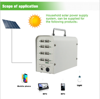 All in one Solar Power bank solar charger for mobile phone laptop and home lighting