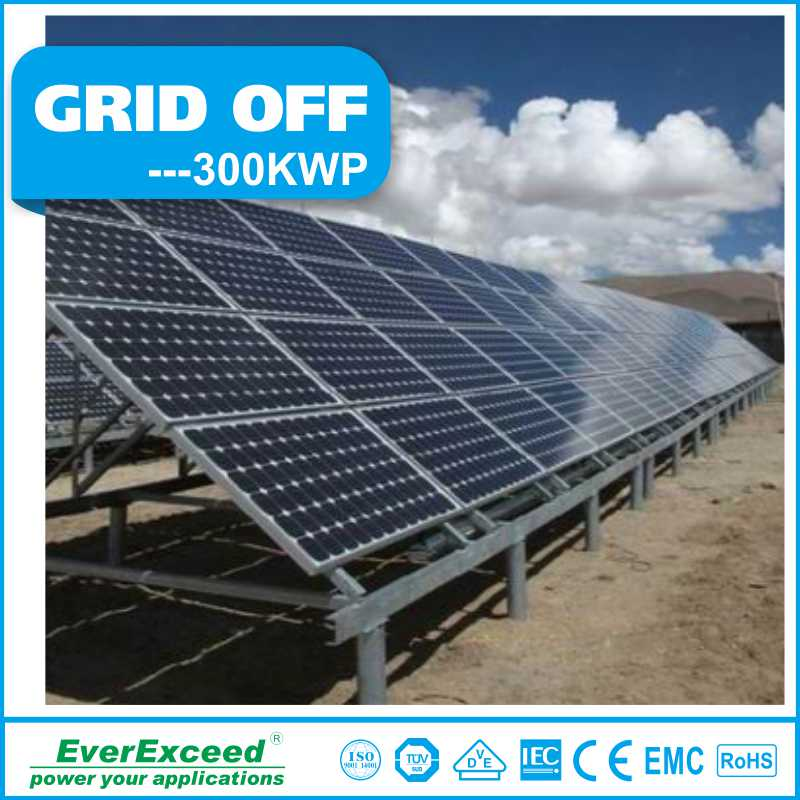 Commercial Home 2016 EverExceed 5kw 10kw 20kw 100kw Off Grid Solar System With Battery, 30kw 50kw Off-grid Solar Power System