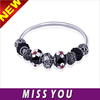 Alibaba Hot Sale Fashion Accessory DIY Europe Beads Charm Bracelet handmade jewelry for girl christmas gift