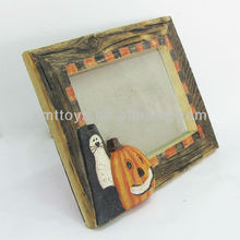 Halloween resin photo picture frames wholesale