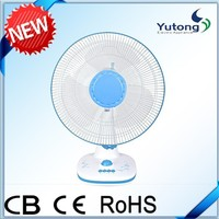 "16"" Table Installation and CE,RoHS Certification crown cooling table fan"
