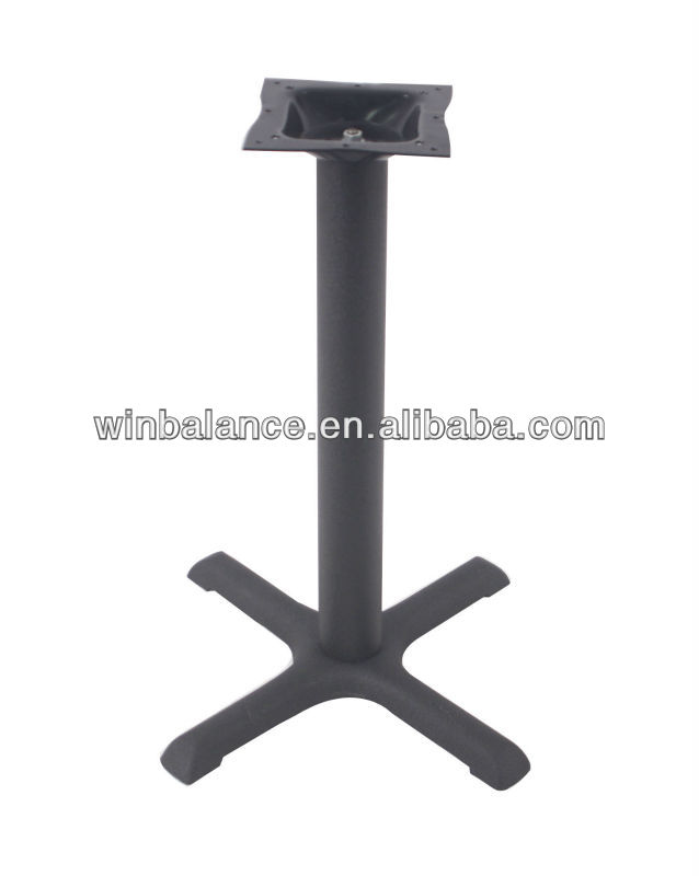 Outdoor Furniture Assembled Black Table Base