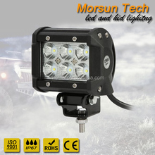 "Hot product!!! pod 18w 4"" led light bar, led work light, led driving lamp"