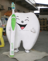 New design The tooth mascot costume for adult in Party show