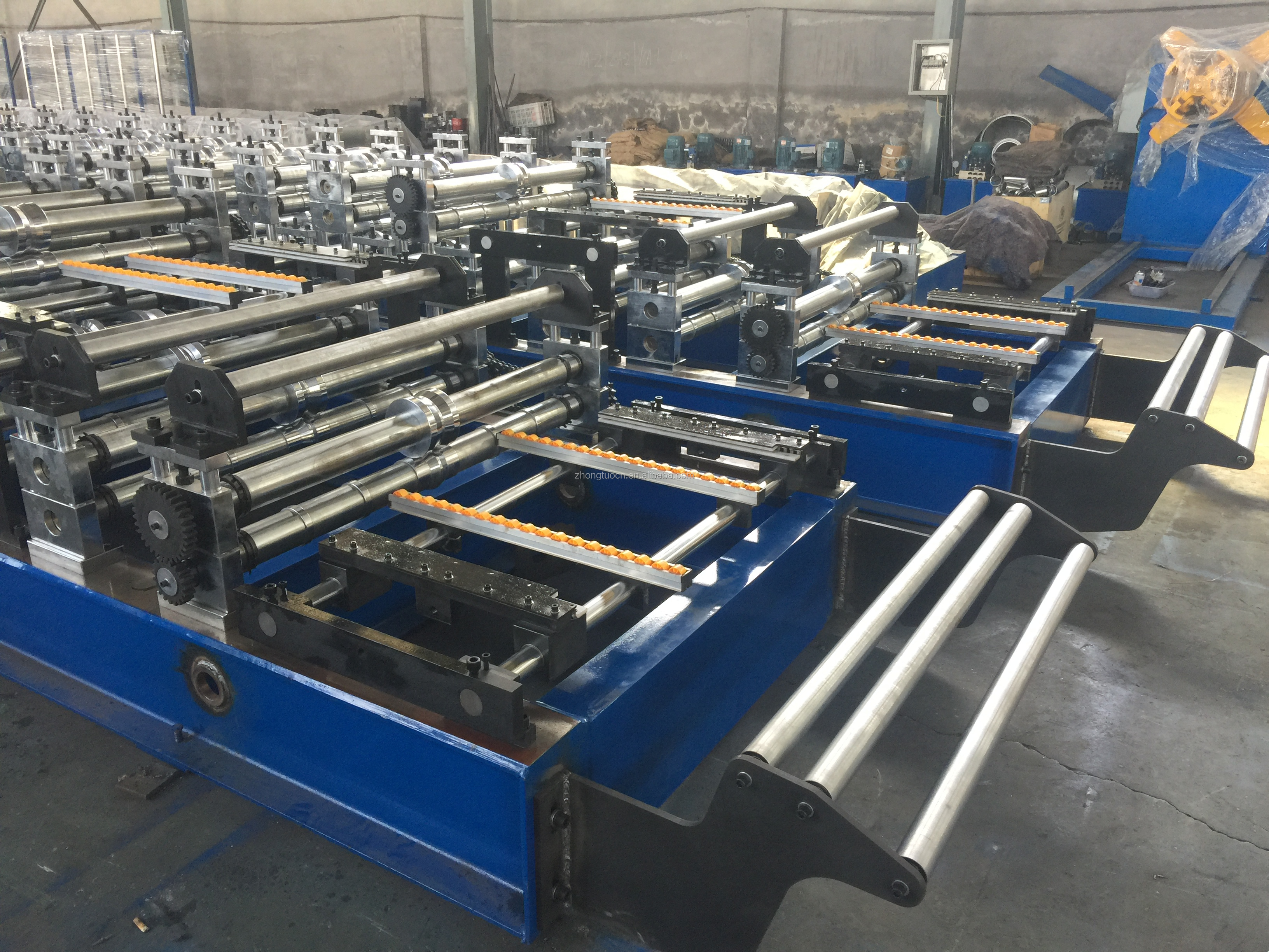 IBR and Corrugated double layer roof machine