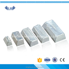 Customized 99.90% 99.95% magnesium ingot for producing magnesium aluminium alloy