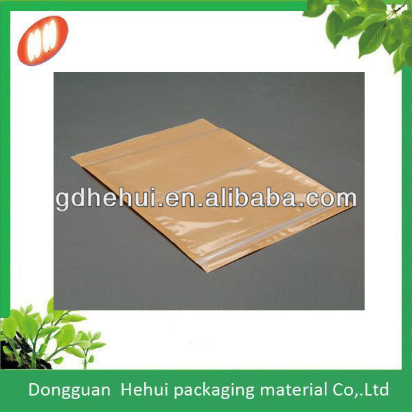 high quality full color glue packing list envelopes