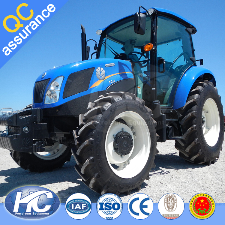 High quality power trailer tractor / farm track tractor / 130 hp farm tractor for sale