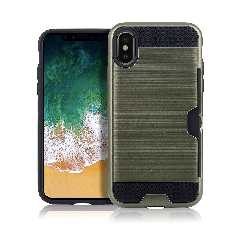 New luxury Anti-knock Armor Case shockproof bumper cell phone case For iPhone X