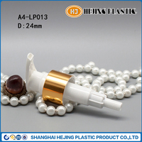 24mm crown finish plastic bottle spray head for shampoo bottle