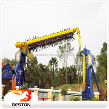 Newest!! outdoor space travel top spin rides amusement attractions for sale