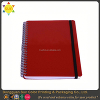 2015 spiral journal hardcover notebook/hardcover notebook with stickers/fancy notebook with pen