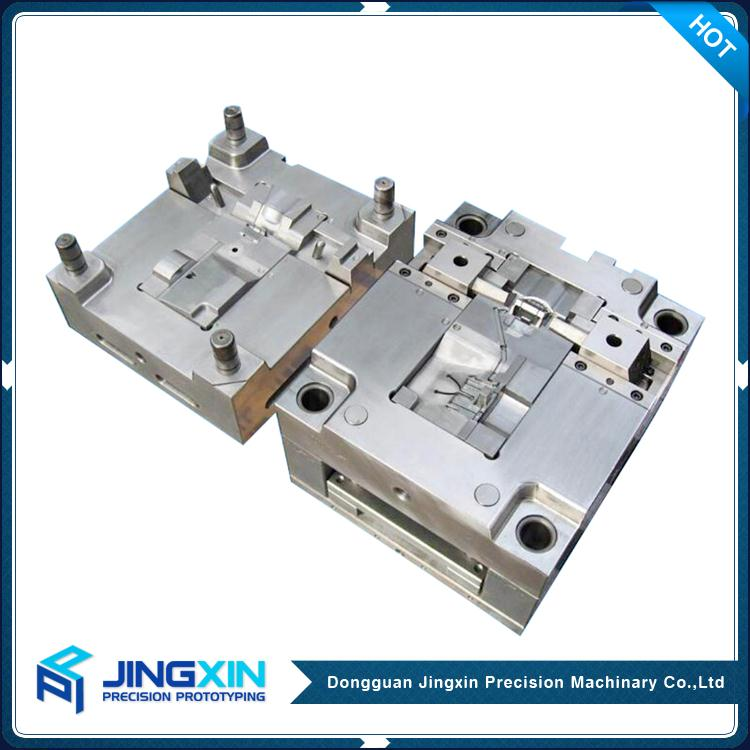 Jingxin China Supplier cnc machining plastic injection mold manufacturer plastic mould maker form China Dongguan