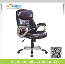 Acrofine Shine brown PU Leather Popular high back office chair AOC8334