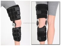 CE, FDA Cool durable flexion and extension Knee and leg orthoses Post Operative ROM/dial hinged Knee brace/knee brace with hinge