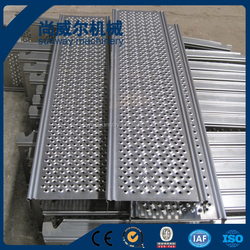 scaffolding expanded metal mesh deck, perforated decking roll forming machine