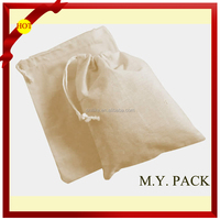High quality calico drawstring bag