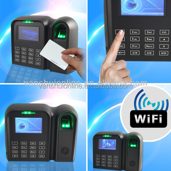 finger print time attendance, time and attendance system (Qclear-TC)
