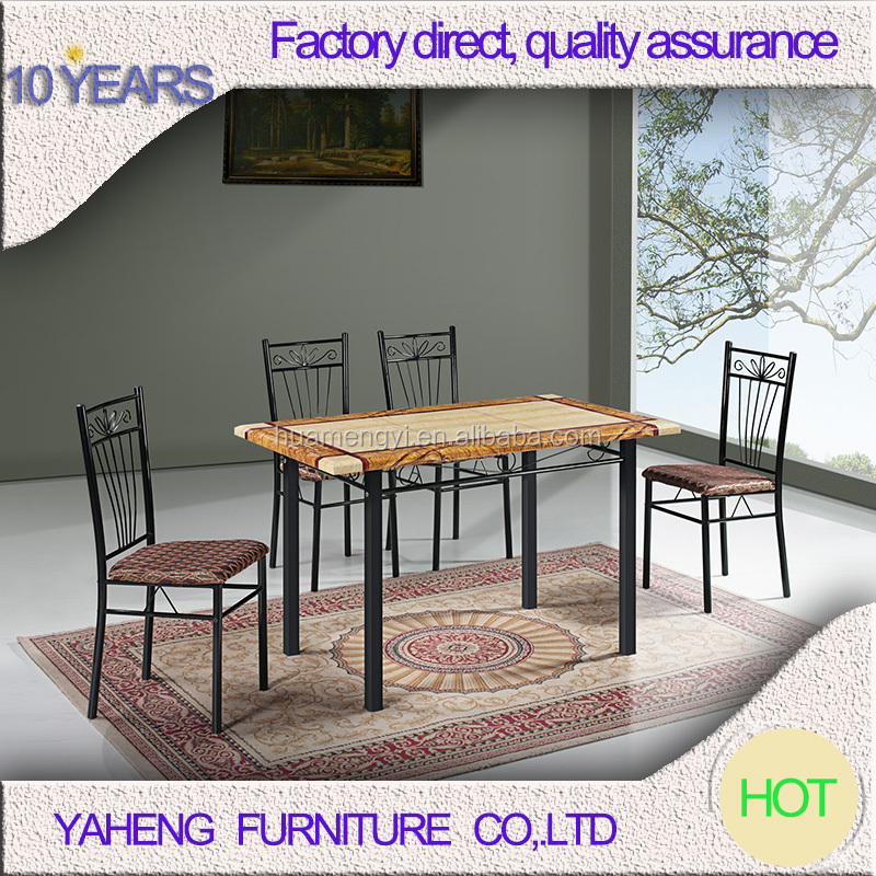 latest designs industrial wood metal chinese restaurant tables and chairs of dining tables