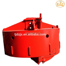 Double layer drilling rig tools concrete bucket for sale with 600mm-2400mm