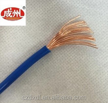 ZR - BVR6mm square Environmental protection of PVC material cable