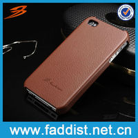 Genuine Leather Back Cover for iphone5 Case