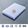 Plastic 6mm twin wall alveolar polycarbonate sheet