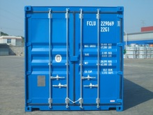 dry cargo new shipping container with lock box