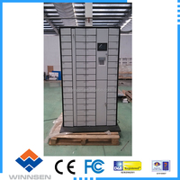 electronic storage cell phone charging lockers