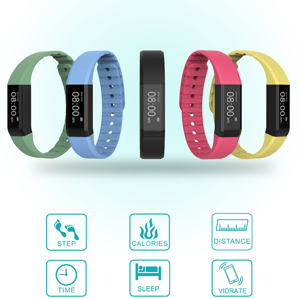Smart fitness tracker, loss weight pedometer bracelet,fitness activity tracker