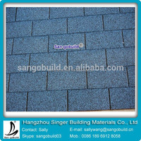 Best Selling Products 3 Tab Roof Shingle Tiles in Nigeria/South Africa/India/American/Canada/Brazil