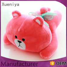 Factory Wholesale High Quality Sleeping Bear Toy Cute Plush Toy Bear
