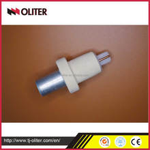 Immersion disposable expendable thermocouple one-time use thermocouple head with triangle probe