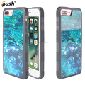 New tempered glass case for iphone 7 plus mobile phone case for apple iphone 7 plus good quality