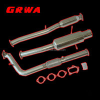 stainless steel car exhaust system for Impreza WRX STI 02-07