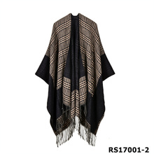 Hot selling style lady tartan design fashion pashmina import