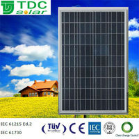high efficiency 115w pv solar panel,pv solar module with TUV,ICE,CE certificate