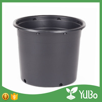 wholesale black plastic 3 gallon 5 gallon pot for sale