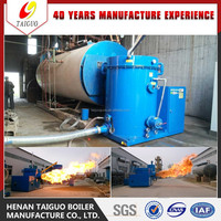 Hot Sale!! 0.5-6Tons Wood Fired Steam Boiler with Burner for Industry