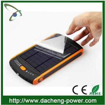 Poymer Cells 23000mah Universal Laptop Solar Charger 20v