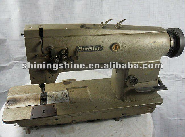 2013 hot sale used Sunstar ordinary sewing machine