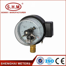 "100mm(4"")Electric Contact Vacuum Pressure Gauge -0.1-0-60MPa"