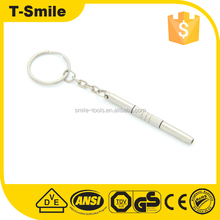 Mini 3 in 1 Stainless Steel Screwdriver Keychain Precision Eyeglass Repair Tool