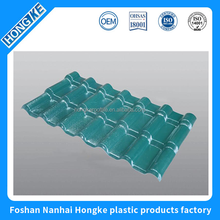 China roofing material asa pvc synthetic resin roof tile flat plastic roof sheets